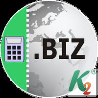 Регистрация домена biz