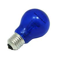 Лампа накаливания вольфрамовая синяя КАЛАШНИКОВО 220-60 А55 С E27 FAVOR