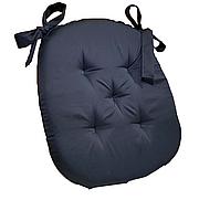 Подушка на стул Кедр на Ливане трапеция серия Classic Black 38x38x4
