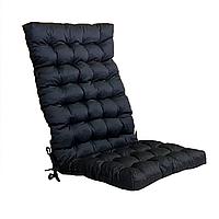 Матрас на кресло Кедр на Ливане стеганный серия Classic Black 105x48x7