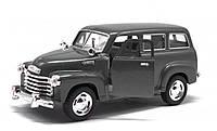 Машинка KINSMART  Chevrolet Suburban Carryall  черная