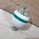 Карнавальная вращающаяся диско лампочка хамелеон Led mini party light lamp гирлянда для праздничный шар, фото 8