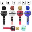 Колонка с функцией Караоке Микрофона Wster WS-878 (USB, microSD, AUX, FM, Bluetooth), фото 4