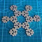 Конструктор головоломка квадратный Neocube неокуб 216 неодимовых кубиков по 5 мм в боксе магнитный (тетракуб), фото 6