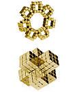 Конструктор головоломка квадратный Neocube неокуб 216 неодимовых кубиков по 5 мм в боксе магнитный (тетракуб), фото 8