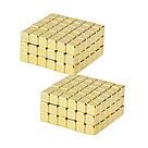 Конструктор головоломка квадратный Neocube неокуб 216 неодимовых кубиков по 5 мм в боксе магнитный (тетракуб), фото 9