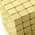 Конструктор головоломка квадратный Neocube неокуб 216 неодимовых кубиков по 5 мм в боксе магнитный (тетракуб), фото 10