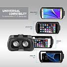 Очки виртуальной реальности VR Box 2.0 - 3D с пультом джойстиком Glasses 3д shinecon (23423rd) телефона шлем, фото 4