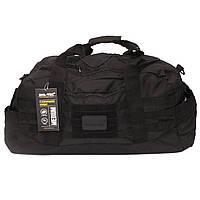 Дорожня тактична сумка Mil-tec 54 літра чорна