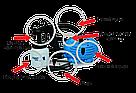 Універсальний краскопульт пульверизатор Paint Zoom Пейнт Зум побутової пневматичний розпилювач фарби фарбування, фото 6