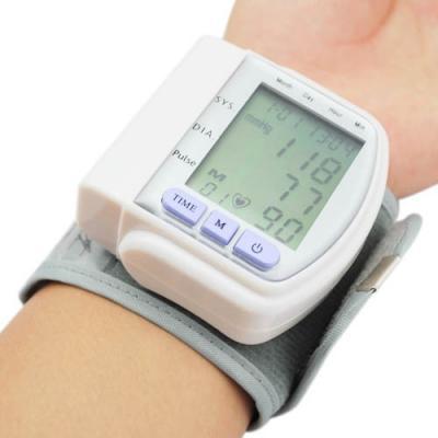 Цифровий тонометр на зап'ястя Blood Pressure Monitor CK-102S / апарат для вимірювання тиску і пульсу цифровий