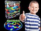 Детский светящийся гибкий трек Magic Tracks 220 деталей автомобильная гоночная трасса Меджик трек машина, фото 5
