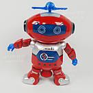 Интерактивный танцующий светящийся робот Dancing Robot детская игрушка со светомузыкой, фото 2