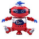 Интерактивный танцующий светящийся робот Dancing Robot детская игрушка со светомузыкой, фото 4
