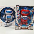 Интерактивный танцующий светящийся робот Dancing Robot детская игрушка со светомузыкой, фото 8