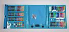 Художній набір для творчості, малювання 208 предметів з мольбертом для дітей у валізі, фото 8