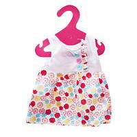 Одежда для пупса: Платьице в цветочек  GCM18-41/44/GC18-42/43 ( TC149503)