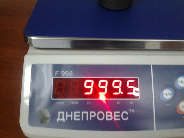 купить весы для фасовки Днепровес F998