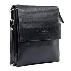 Сумка планшет мужская черная на плечо 15* 18 см Dr.Bond GL 308-0