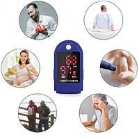 Пульсоксиметр для измерения пульса, сатурации (кислорода) в крови, LK87 пульсометр на палец! Sale