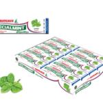 Жевательная.резинка BATEAUX мята 20шт упаковка