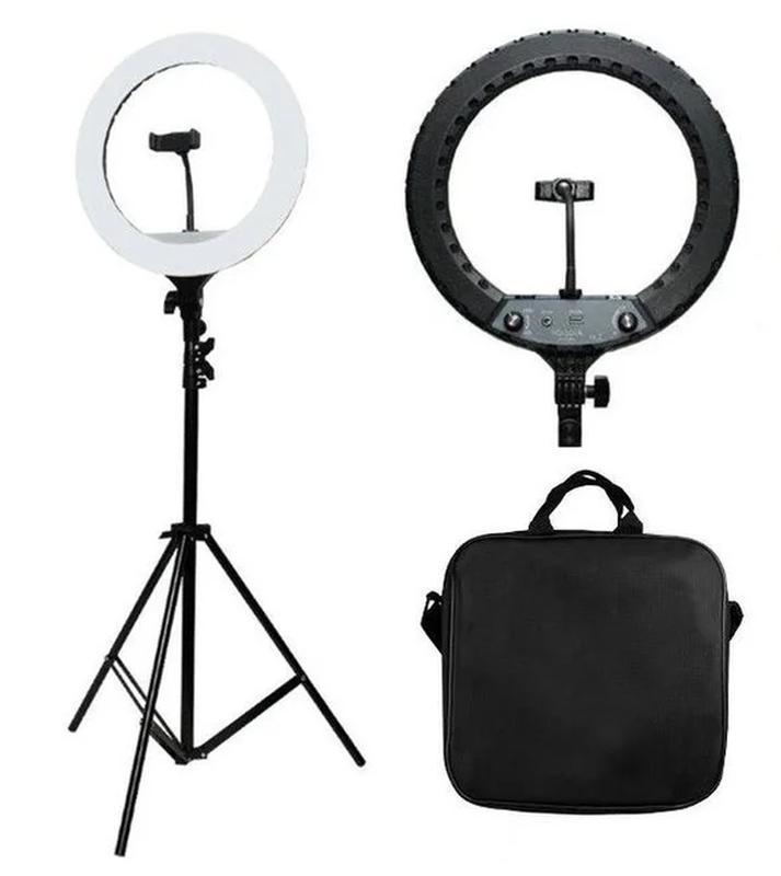 Кольцевая лампа на штативе Тик Ток для косметологов визажистов блогеров парикмахеров салонов красоты