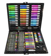 Набор для рисования и творчества Art set 150 предметов в кейсе-В ТОПЕ