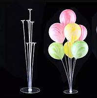 Пластиковая подставка держатель для воздушных шаров 70 см альтернатива гелиевым шарам