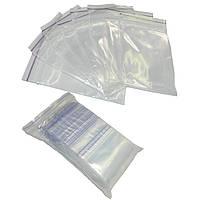 Пакеты с zip замкам прозрачные 250 х 350 мм