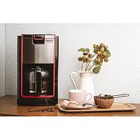 Кофеварка капельная кофемашина для дома кофеварки электрические Camry CR 4406 900W Black на 1.2 литра