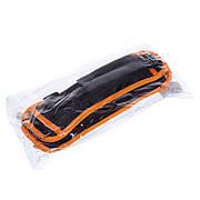 Утяжелители-манжеты для рук и ног FI-1302-1 (2 x 0,5кг) (Черный-серый)