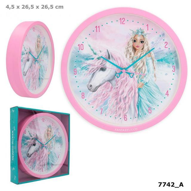 TOP Model Годинник дитячий настінний ICEFRIENDS Fantasy Model (Топ Модел часы настенные детские  7742)