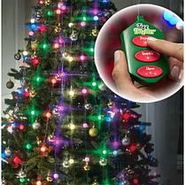 """Гирлянда """"Tree dazzler"""" с верхушкой для елки 48 лед 16 цветов и режимов, фото 2"""