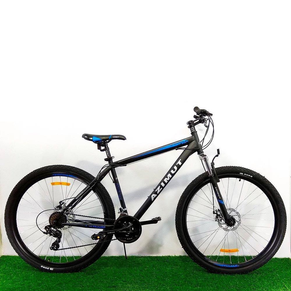 """Горный велосипед 29"""" Azimut Energy GD черно-синий"""