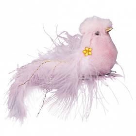 Птичка Yes! Fun на клипе, розовая, 2 шт.