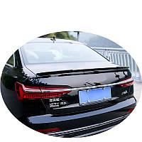 Спойлер кришки багажника Audi A6 C8 2018+ р. в.