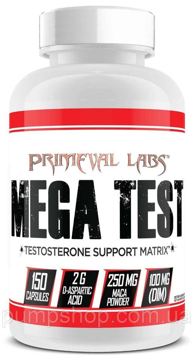 Бустер тестостерона Primeval Labs Mega Test 150 капс.