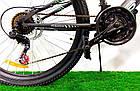 """Горный двухподвесный велосипед 26"""" Azimut Blackmount D черно-синий, фото 3"""