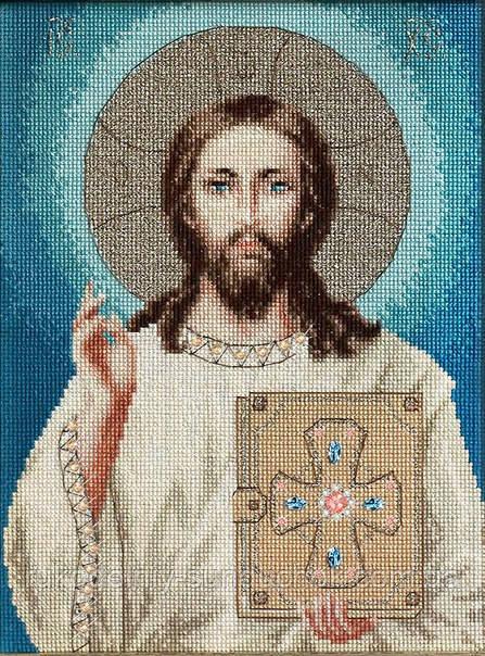 Набор для вышивки крестом Luca-S BR117 Иисус Христос
