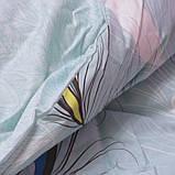 Полуторный комплект постельного белья из хлопка Полуторний комплект постільної білизни на молнии S333, фото 2