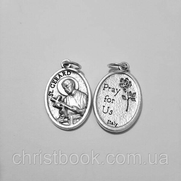 Медальон металевий Святий Герард