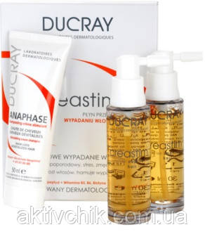 Ефективний набір від випадіння волосся Ducray
