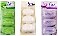 Fax туалетное мыло в ассортименте (планшет) 3х115 гр Турция