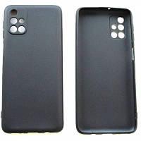 Силиконовый чехол Samsung Galaxy M31s M317 (черный)