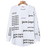 Лонгслив Palm Angels White Наличие: (S)-2 (M)-2 (L)-2 (XL)-1.