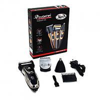 Бритва, триммер, машинка для стрижки волос, бороды и усов аккумуляторная Gemei GM-595