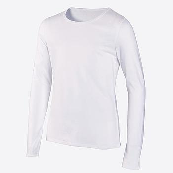 Дитяча двошарова футболка для сублімації з довгим рукавом, розмір 80