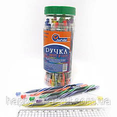 Ручка масленая № 1408 Josef Otten Swift синяя в банке 0,6мм mix уп 30 шт