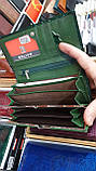 Женские кожаные кошельки (3цвета))11*19см, фото 2