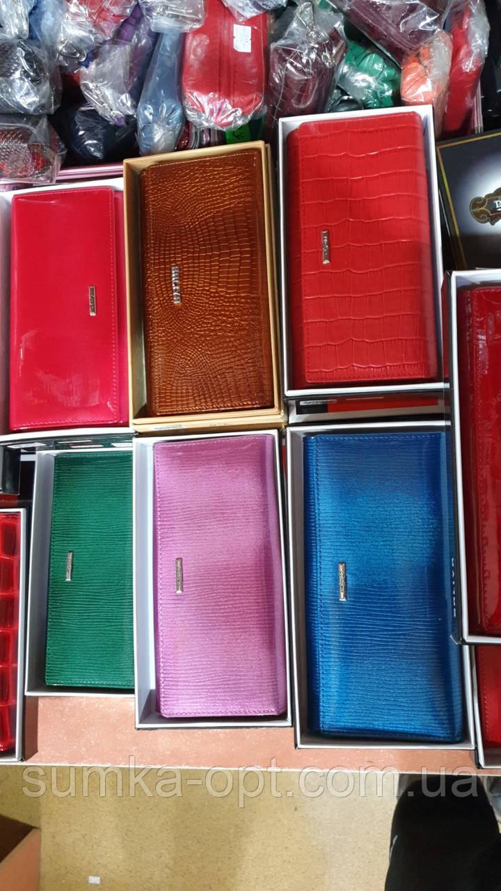 Женские кожаные кошельки (3цвета))11*19см